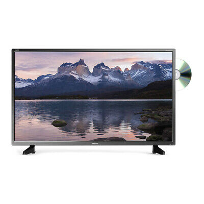 "View Details Sharp 32"" Inch 720p HD Ready LED TV With Freeview HD And Built-in DVD Player • 179.99£"