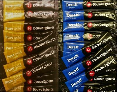 £6.99 • Buy Douwe Egberts Pure Gold / Decaf Decaff 1 Cup Coffee - Individual Sticks Sachets