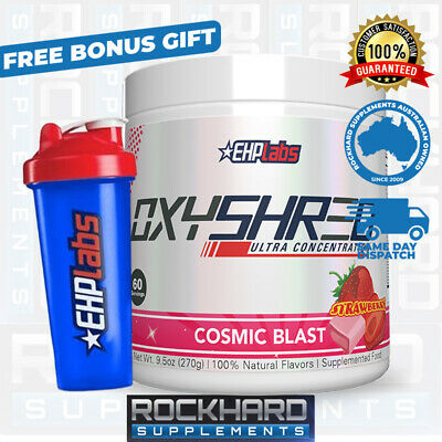 AU69.95 • Buy Oxyshred By EHPlabs 60 Serves Thermogenic Fat Metabolizer Weight Loss Management