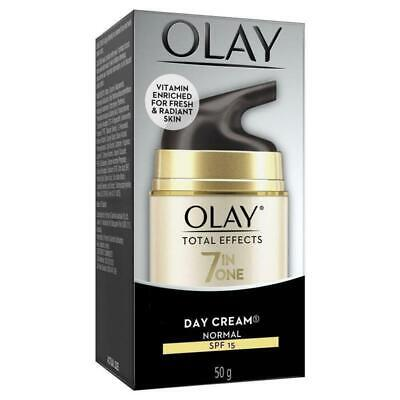 AU36.94 • Buy Olay Total Effects 7 In One Day Cream SPF 15 50g Improves Tired Looking Skin
