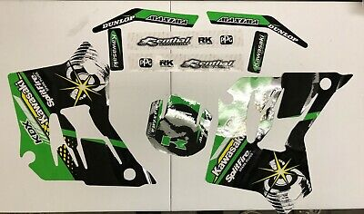 AU58.02 • Buy KDX 200/220 1995-06 Splitfire Graphic Kit