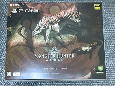 AU637.09 • Buy SALE PS4 PlayStation 4 Pro Console System MONSTER HUNTER WORLD LIOLAEUS EDITION