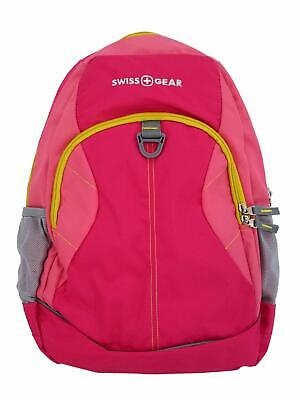 Swiss Gear Pink Computer Backpack Padded Large Capacity School Travel Pack • 14.30£