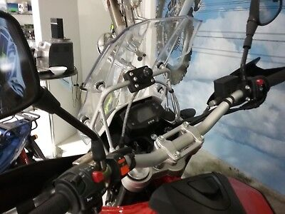 AU44.45 • Buy Swm Super Dual Motorcycle Over Dash Gps, Phone, Device  1  Ball Mount