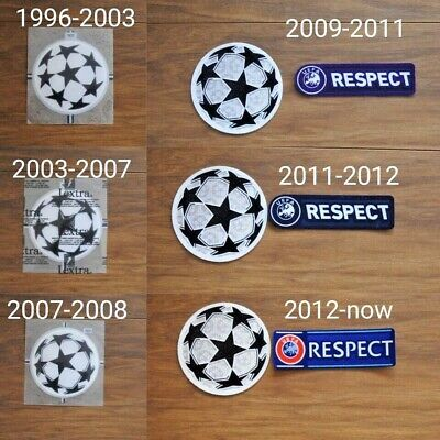 £5.99 • Buy ALL Champions League Badges / Patches LEXTRA Football Shirt Soccer Jersey Retro