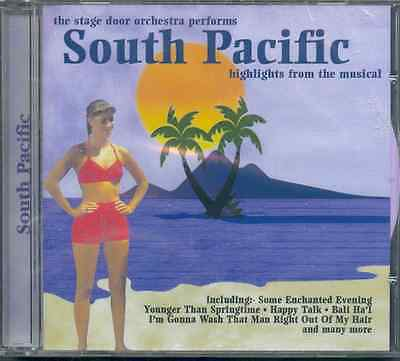South Pacific - Highlights: Stage Door Orchestra - New Sealed Cd • 0.99£