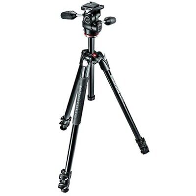 AU248.85 • Buy Manfrotto 290 XTRA Tripod With 3-Way Head [MANFROTTO WARR]