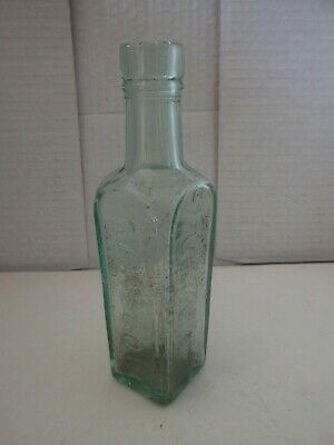 Patersons Glasgow ESS Camp Coffee Antique Vintage Dug Up Green Glass Bottle. • 4.99£
