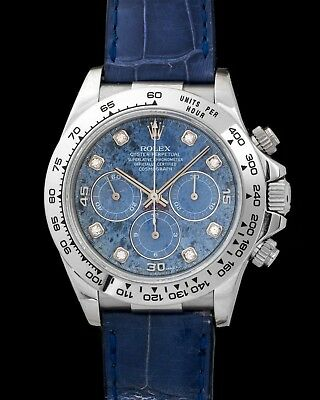 $ CDN53658.74 • Buy Rolex Daytona 16519 Automatic Zenith With Rare Sodalite Dial Cased In White Gold