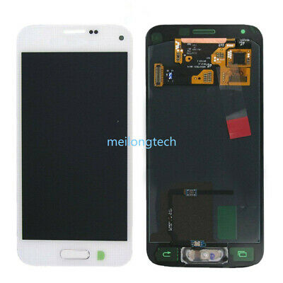 For Samsung Galaxy S5 Mini G800F Amoled LCD Display Touch Screen Digitizer White • 40.84£