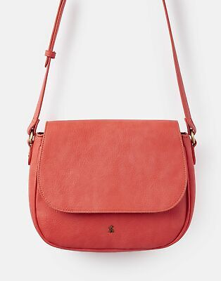 View Details Joules Womens 204144 Saddle Bag ONE In RED/BLUE • 20.76£
