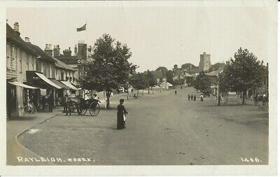 £12 • Buy Essex, Rayleigh, Street Scene With Crown Hotel, Photo Postcard