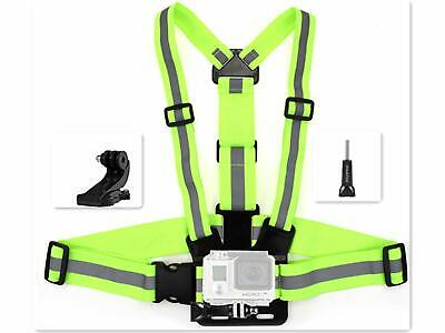AU22.89 • Buy Chest Mount Gopro 5 Adjustable Action Camera Mount Clamp Accessories Quick Clip
