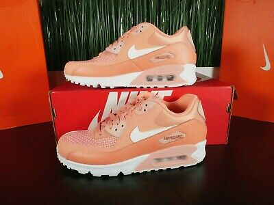 pretty nice c3968 85fc5 Nike Air Max 90 Se Women s Crimson White Running Shoes 881105-604 Multi Size  •