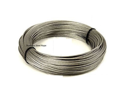 £6.99 • Buy Best Quality Stainless Steel Wire Rope Cable, (Plastic Coated ,30M)