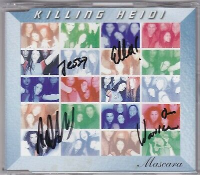 AU39.99 • Buy Killing Heidi - Mascara - CD (Signed) 3 X Track Australia)