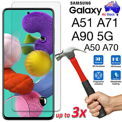 AU7.99 • Buy 9H Tempered Glass | Film Screen Protector Samsung Galaxy A11 A21s A31 A51 A42 5G