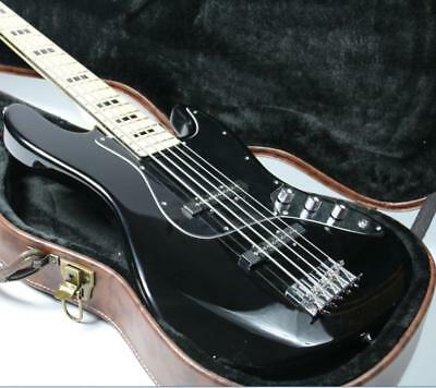 $ CDN281.79 • Buy Cheaper 5 Strings JB Electric Bass Guitar Gloss Black Maple Fingerboard Instock