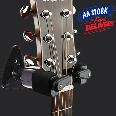 AU19.99 • Buy Guitar Hook Wall Bass Slotted Short Ukulele Stand Holder Mount Rack Hanger