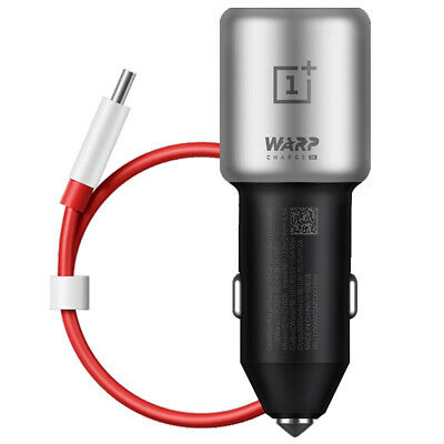 AU58.08 • Buy Original OnePlus Warp Charge 30 Car Fast Charger For OnePlus 7 Pro / 5T / 6 / 6T