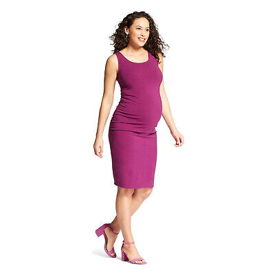 bc3fd4f3fec86 Isabel Maternity By Ingrid & Isabel Maternity Shirred Tank Dress Berry Pink  • 22.99$