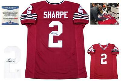 $ CDN191.03 • Buy Sterling Sharpe Autographed SIGNED Jersey - Red - Beckett Authentic