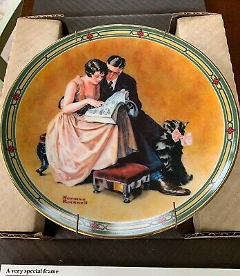 $ CDN23.73 • Buy Edwin Knowles China  Norman Rockwell  The Hampshire Plate