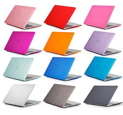 Laptop Matte Shell Cover Case For Apple Macbook Pro 11 12 13 15 Inch 2010 -2019 • 12.99£