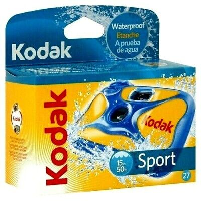 £16.95 • Buy Kodak Ultra Sport Underwater 15M SUC Single Use Disposable Camera  27 Exp.  BNIP