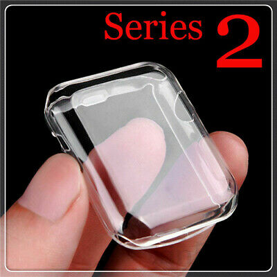 $ CDN3.85 • Buy IWatch For Apple Watch Clear Case Full Cover Screen Protector Series 1/2/3
