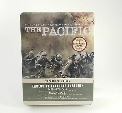 $21.99 • Buy The Pacific DVD 10 Part Mini Series 6 Disc Set In Tin Case NEW SEALED FREE SHIP