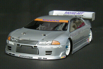 1:10 RC Clear Lexan Body Nissan R32 GTST 4 Door 200mm Nitro Or Electric Colt • 22.01£
