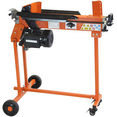 FOREST MASTER FM10TW 5 Ton Electric LOG SPLITTER Hydraulic Wood Axe Timber Maul • 388.49£