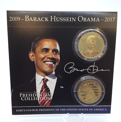 $12.95 • Buy Barack Obama Presidential Commemorative Coin Collection