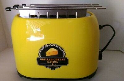 $9.99 • Buy Retro Yellow Grilled Cheese Toaster -  Smart Planet Grilled Cheese Nation