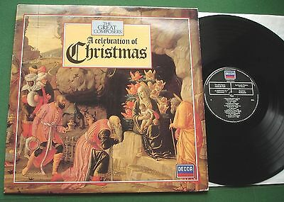 Great Composers A Celebration Of Christmas Inc In Dulci Jubilo + 410238-1 LP • 3£