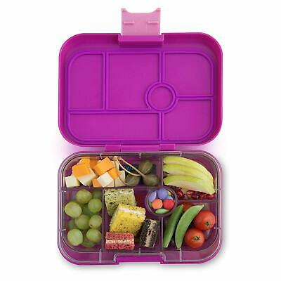 AU74.74 • Buy YUMBOX Classic (Bijoux Purple) Leakproof Bento Lunch Box Container For Kids …