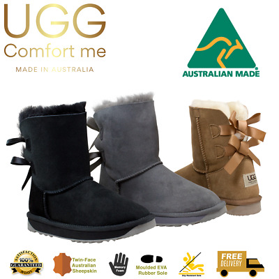AU69 • Buy UGG Boots, CLEARANCE, AUSTRALIAN MADE, Double Ribbon, Australian Sheepskin, Memo