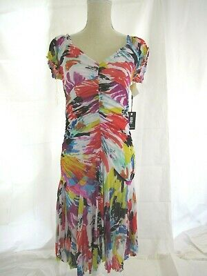 AU85.21 • Buy SAO PAULO Ruched Dress - Retailed For $125 - Size 8
