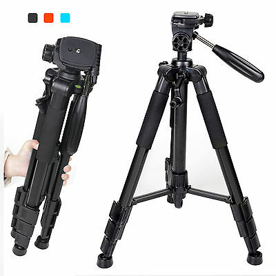AU28.04 • Buy Zomei Professional Portable Aluminium Tripod&Pan Head For Canon Nikon SLR Camera