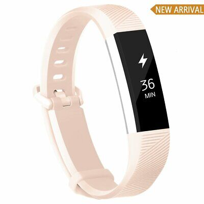 AU15.39 • Buy Fitbit Alta/hr Strap Band Metal Clasp Replacement Adjustable Durable Small Large