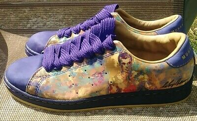 $124.95 • Buy Adidas MUHAMMAD ALI Classic II LeRoy Neiman RETRO Sneakers Shoes RARE Size 9