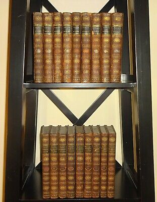 $2250 • Buy 1796 Homer's Iliad & Odyssey W/ The Works Of Alexander Pope, Leather, 20 Vols VG