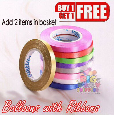 £1.69 • Buy 10 M Curling String Colour Balloon Ribbon Balloons Weight Gift Decoration Fancy