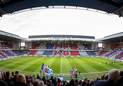 £8.99 • Buy Glasgow Rangers FC Ibrox Stadium Art Print Photo Picture Poster A3 A4