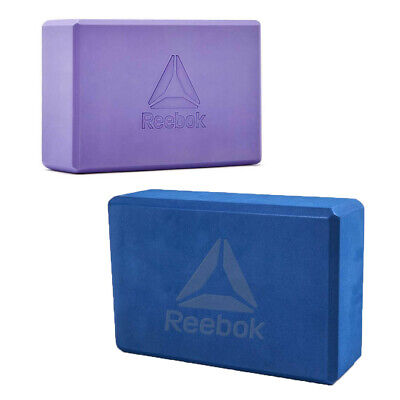 Reebok Yoga Block EVA Foam Pilates Brick Stretch Exercise Stretching Support Aid • 8.99£