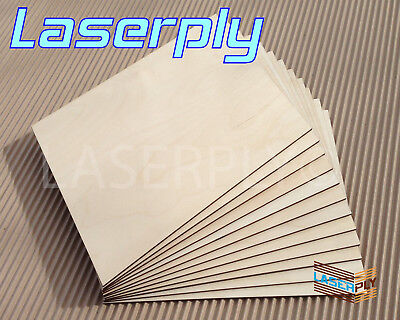 £15.95 • Buy 4mm Birch PLywood Sheets From A4,  Laserply, Cnc, Craft, Lasers Pyrography, FSC
