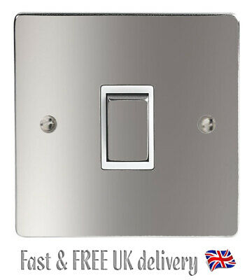 Plain Silver Light Switch And Power Socket Stickers Vinyl / Skin Cover Decal • 1.95£