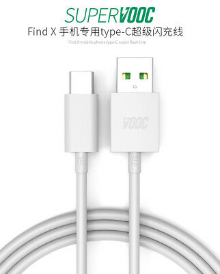 AU10.38 • Buy Genuine USB Type-C Fast Charging Charger Adapter Cable VOOC For OPPO Reno2 Z F