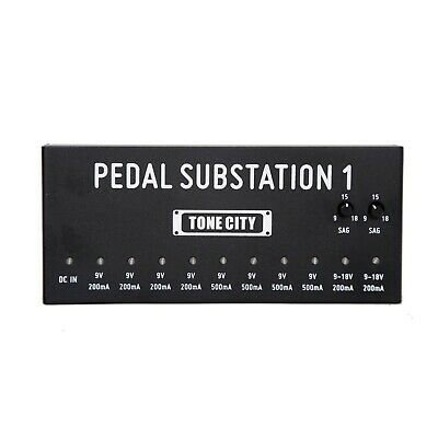 $ CDN105.32 • Buy Tone City TPS-1 Substation 1 Guitar Pedal Multi-Power Pedal Board Power Supply